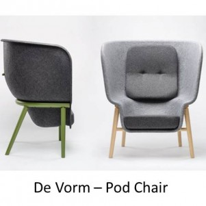 De Vorm Pod Chair 1